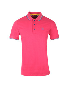 Paul & Shark Mens Pink Tipped Polo Shirt