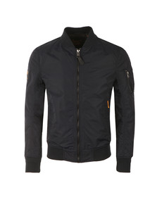 Superdry Mens Blue Lite Flight Bomber