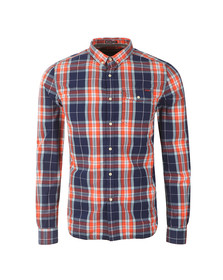 Superdry Mens Multicoloured L/S Washbasket  Shirt