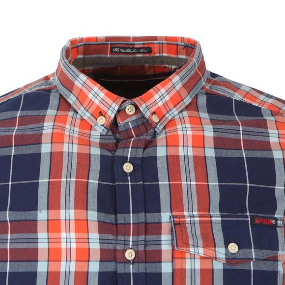 Superdry Mens Multicoloured L/S Washbasket  Shirt main image