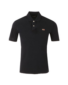 Napapijri Mens Blue S/S Taly New Polo