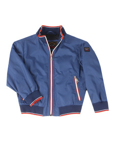 Paul & Shark Boys Blue Boys Woven Lightweight Jacket