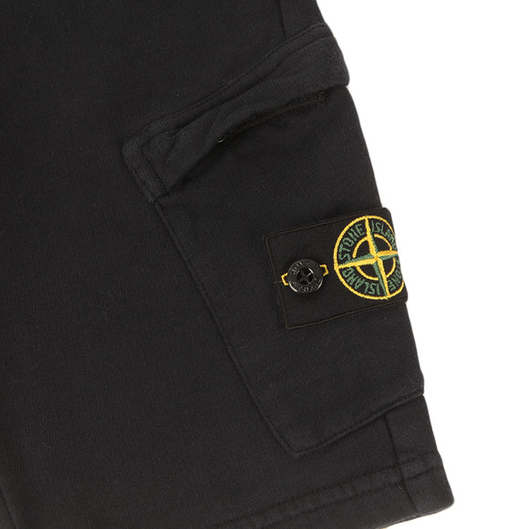 Stone Island Junior  Boys Blue Button Badge Jogger Short main image