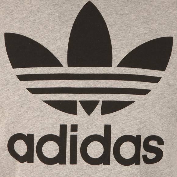 Adidas Originals Mens Grey Trefoil Tee main image