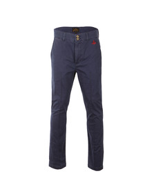 Vivienne Westwood Anglomania Mens Blue Classic Chino