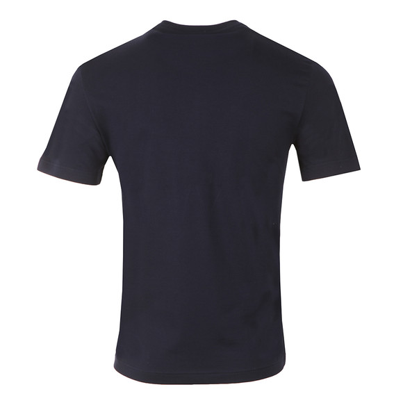 Lacoste Mens Blue TH1916 Print T-Shirt main image