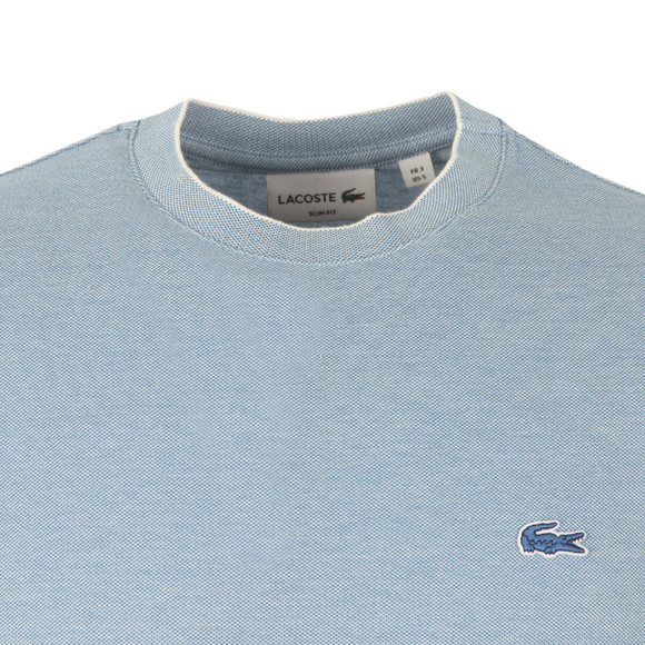 Lacoste Mens Blue TH5006 T-Shirt main image