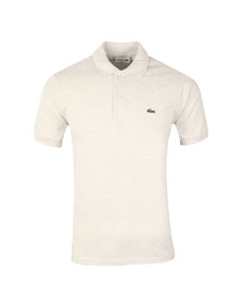Lacoste Mens White L1264 S/S Polo
