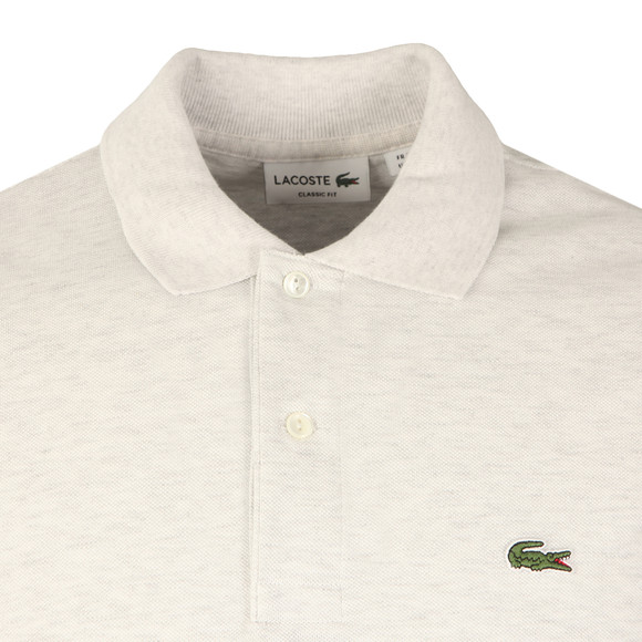 Lacoste Mens White L1264 S/S Polo main image