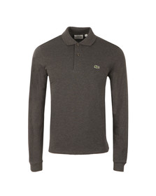 Lacoste Mens Grey L1313 L/S Polo