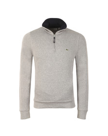 Lacoste Mens Grey Half Zip Sweatshirt SH1925