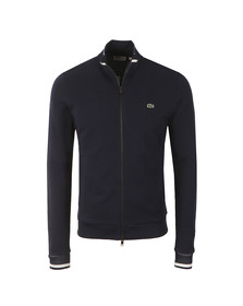 Lacoste Mens Blue Full Zip Sweat