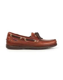 Sebago Mens Brown Schooner Boat Shoe