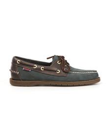 Sebago Mens Blue Endeavor Boat Shoe