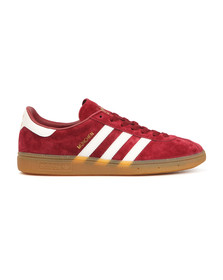 Adidas Originals Mens Red Munchen Trainer