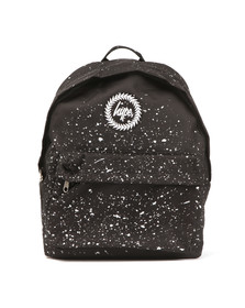 Hype Unisex Black Speckle Backpack