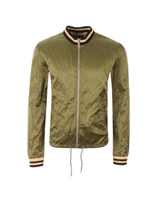 Vivienne Westwood Anglomania Mens Green Souvenir Bomber Jacket