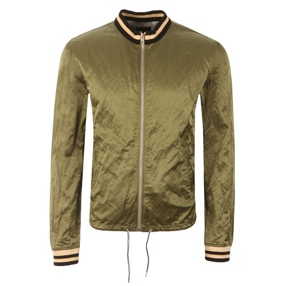 Vivienne Westwood Anglomania Mens Green Souvenir Bomber Jacket  main image