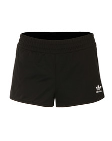 Adidas Originals Womens Black Regular Shorts
