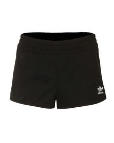 Adidas Originals Womens Black Regular Shorts
