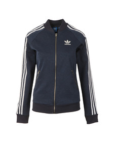 Adidas Originals Womens Blue Superstar Track Jacket