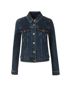 Levi's Womens Blue Original Trucker Jacket