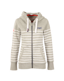 Superdry Womens Grey Sun & Sea Zip Hoody