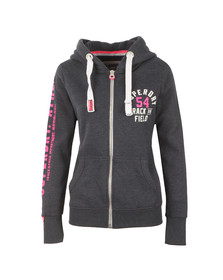 Superdry Womens Blue Track & Field Zip Hoody