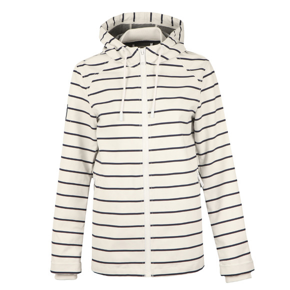 Superdry Womens White Marina Jacket main image
