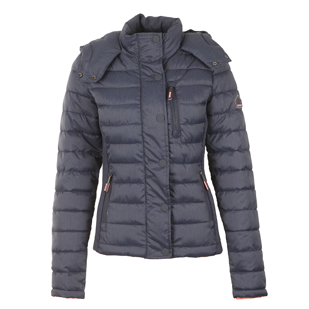 Fuji Slim Double Zip Hooded Jacket main image