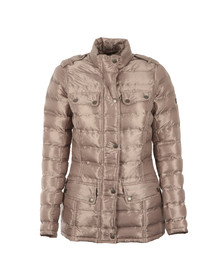 Barbour International Womens Beige Rider Quilt