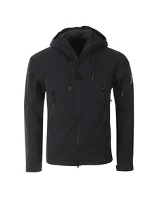 CP Company Mens Blue Pro Tek Hooded Jacket