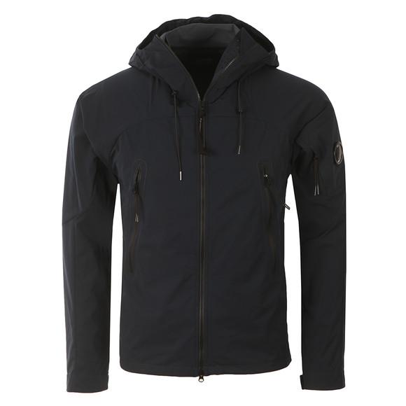 CP Company Mens Blue Pro Tek Hooded Jacket main image