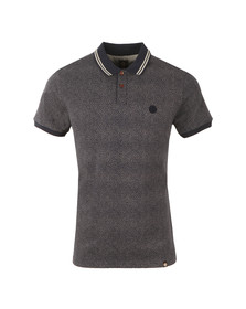Pretty Green Mens Blue Mayflower SS Polo
