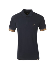 Pretty Green Mens Blue Tedburn Polo