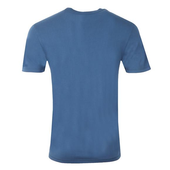 Franklin & Marshall Mens Blue Plain Crew Neck T Shirt main image