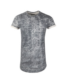 Religion Mens Blue Crack Roll Tee