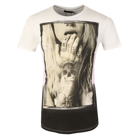 Religion Mens White Tempted Tee main image