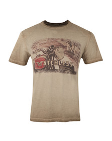Matchless Mens Brown Moto T Shirt