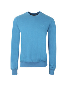 Paul & Shark Mens Blue Small Logo Light Sweatshirt