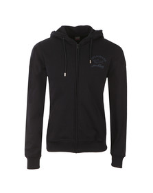 Paul & Shark Mens Blue Full Zip Logo Hoody