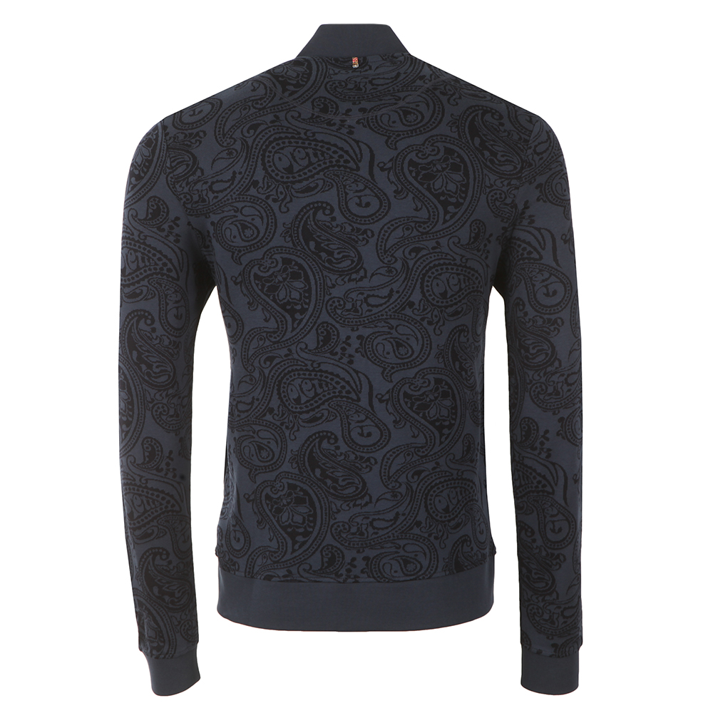 Naseby Paisley Zip Sweat  main image