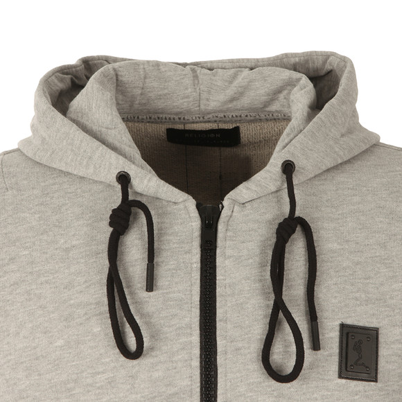 Religion Mens Grey Badge Zippy Sweat main image
