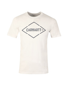 Carhartt Mens White Diamond T Shirt