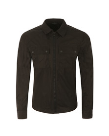 Belstaff Mens Black Shawbury Overshirt