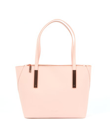 Ted Baker Womens Pink Dimita Mini Grain Small Shopper