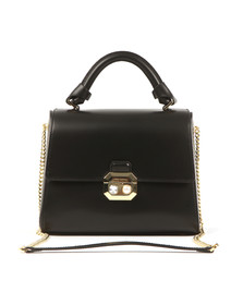 Ted Baker Womens Black Verina Crystal And Pearl Lock Bag