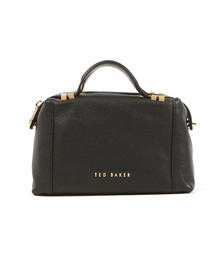 Ted Baker Womens Black Albett Pop Handle Small Tote Bag