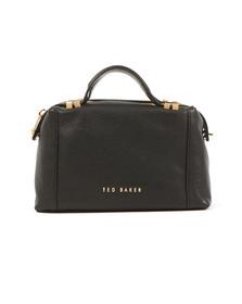 Ted Baker Womens Black Albett Pop Handle Small Tote Bag
