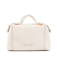 Ted Baker Womens Grey Albett Pop Handle Small Tote Bag